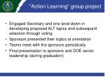 action learning group project