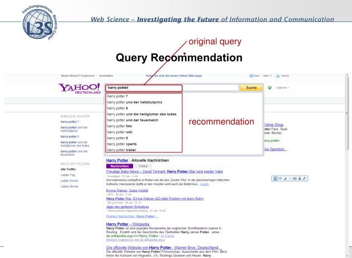 Query recommendation