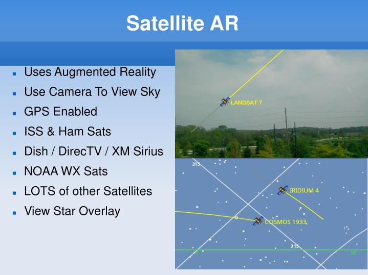 Satellite AR