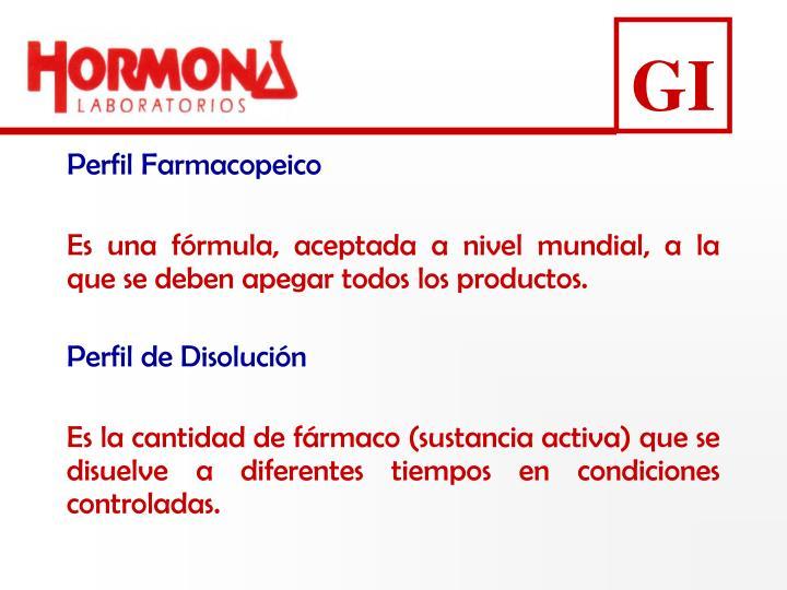 Perfil Farmacopeico