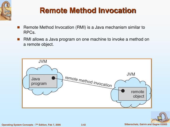 Remote Method Invocation