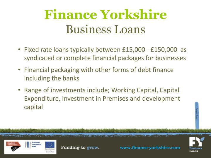 Finance Yorkshire