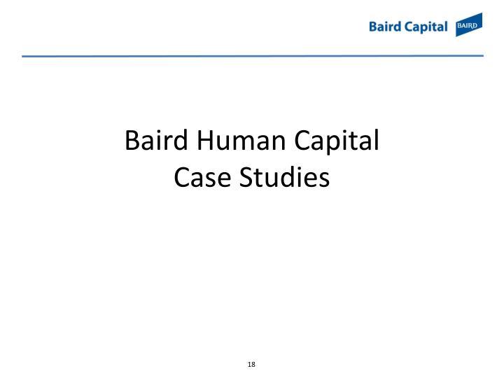 Baird Human Capital