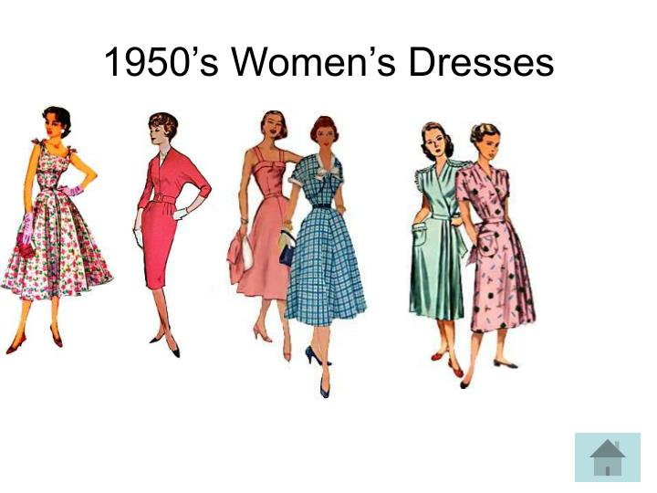 1950's Women's Dresses