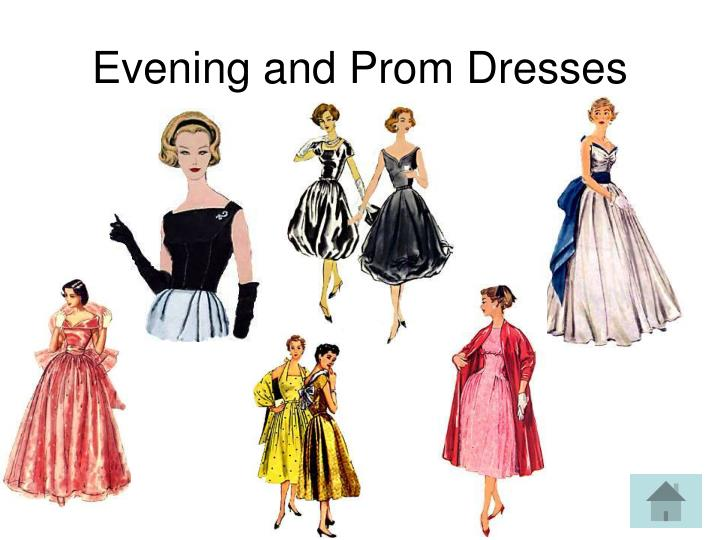 Evening and Prom Dresses