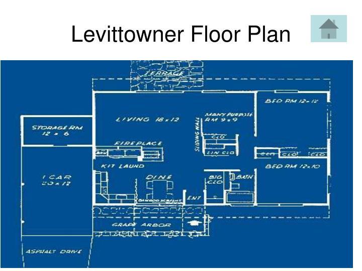 Levittowner Floor Plan
