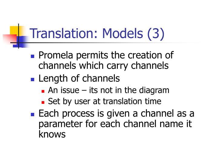 Translation: Models (3)