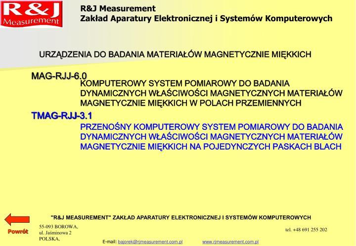 Ppt Rj Measurement Zakład Aparatury Elektronicznej I Systemów