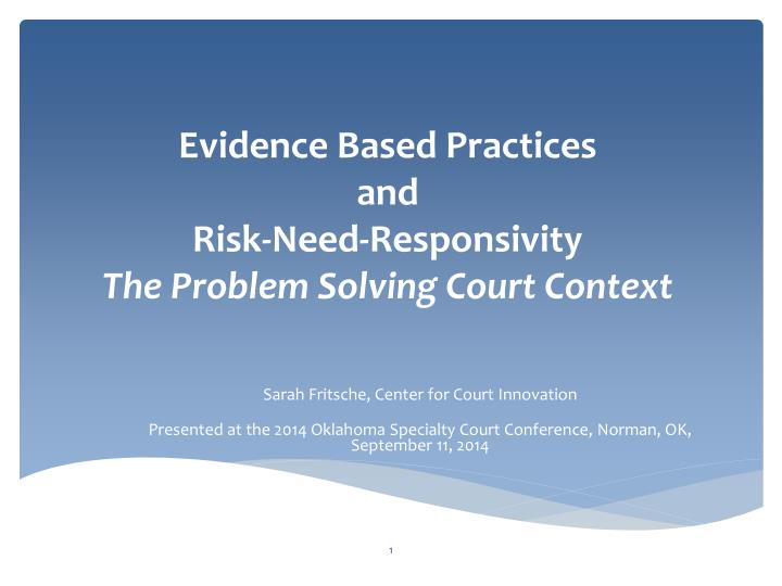 evidence based policing essays Evidence-based policing is the use of the best available research on the outcomes of police work to implement guidelines and evaluate agencies, units, and officers evidence-based practice is the process of applying existing research findings that has shown to work when considering a chosen.
