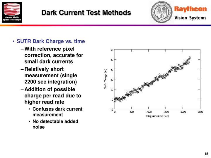 Dark Current Test Methods