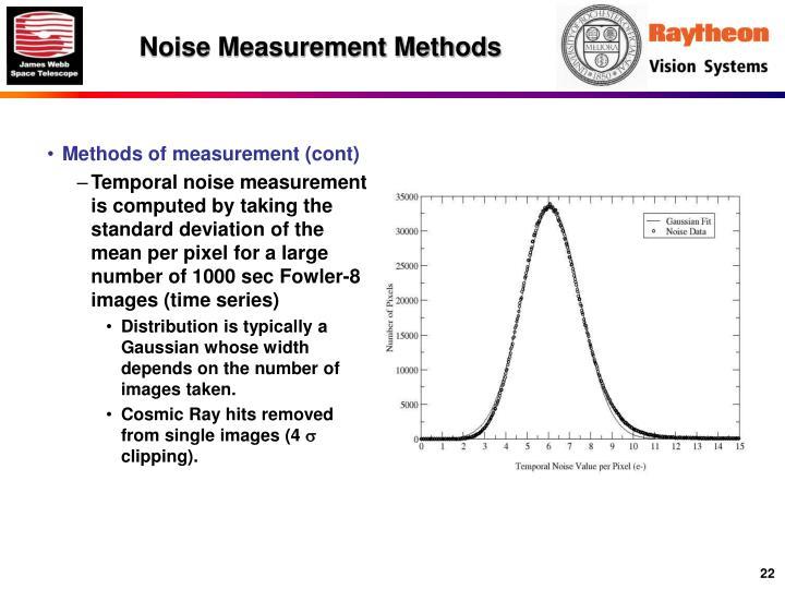 Noise Measurement Methods
