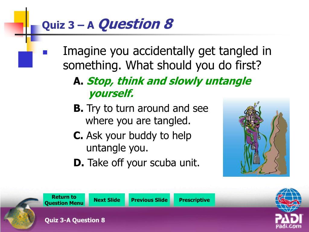 PPT - Quiz 1-A Question Menu PowerPoint Presentation - ID
