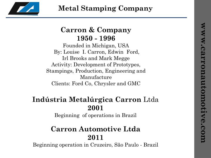 Metal Stamping Company
