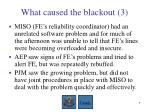 what caused the blackout 3