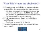what didn t cause the blackout 3
