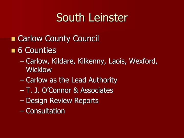 South Leinster
