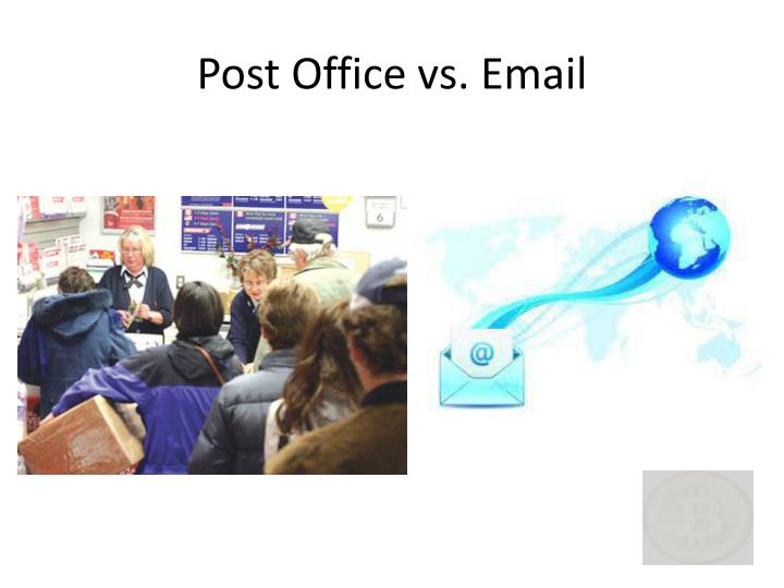 Post Office vs. Email