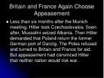 britain and france again choose appeasement1