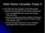 hitler defies versailles treaty 3