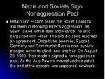 nazis and soviets sign nonaggression pact
