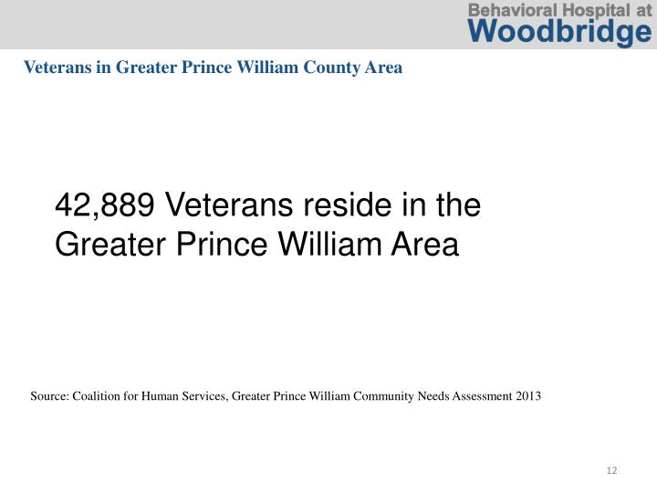 Veterans in Greater Prince William County Area