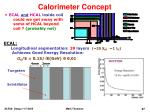 calorimeter concept