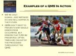 examples of a qms in action1