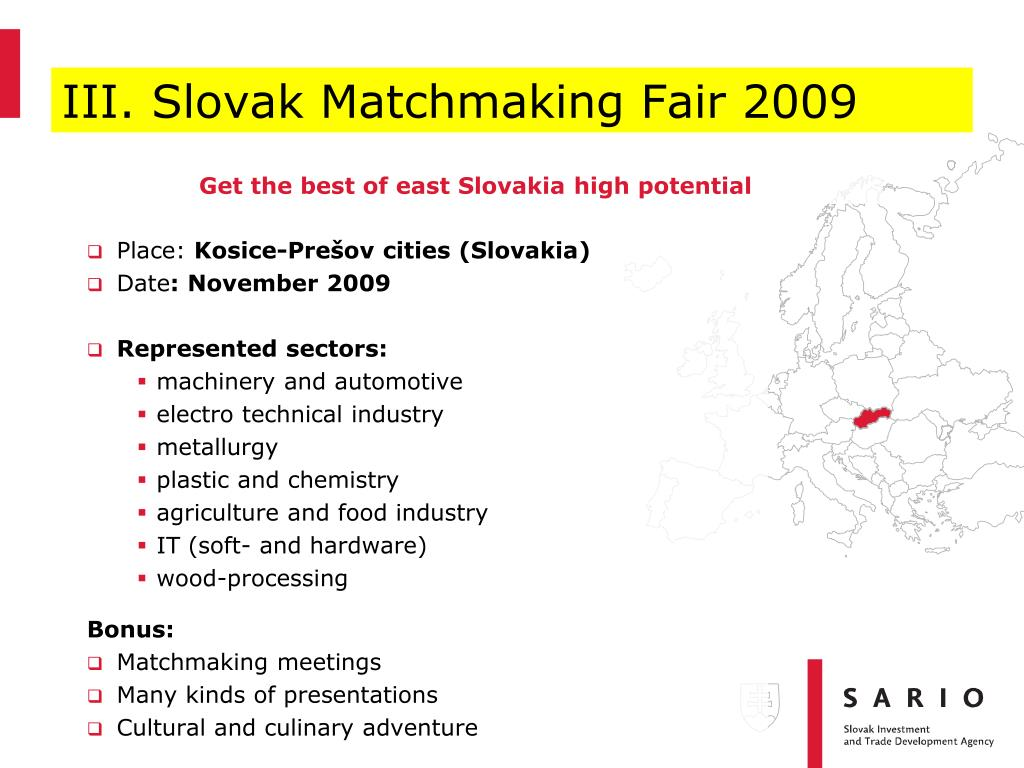 Slovakisk matchmaking Fair