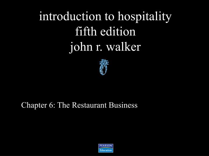chapter 6 the restaurant business n.