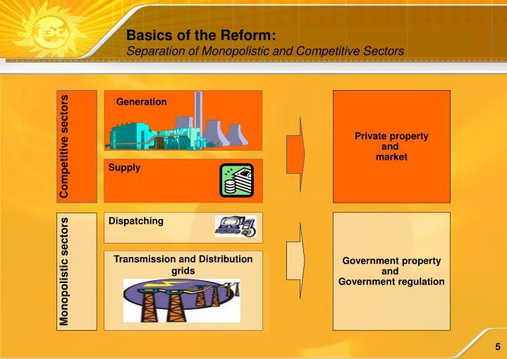 Basics of the Reform: