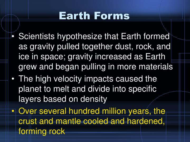 Earth Forms