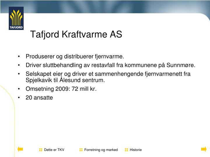 Tafjord kraftvarme as1