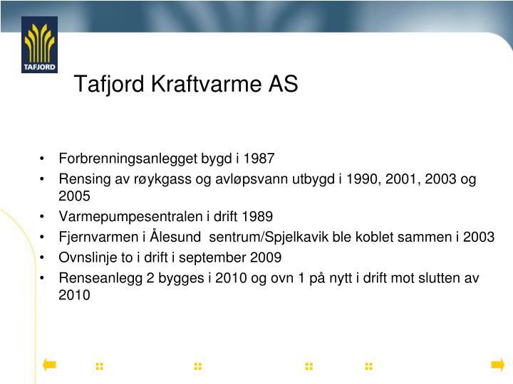 Tafjord kraftvarme as2