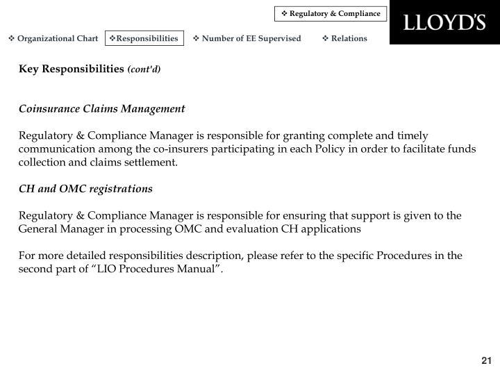 Regulatory & Compliance