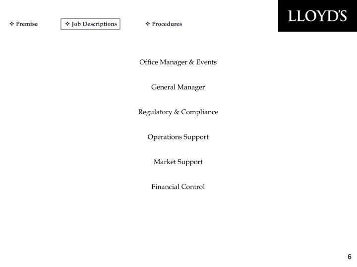 Office Manager & Events