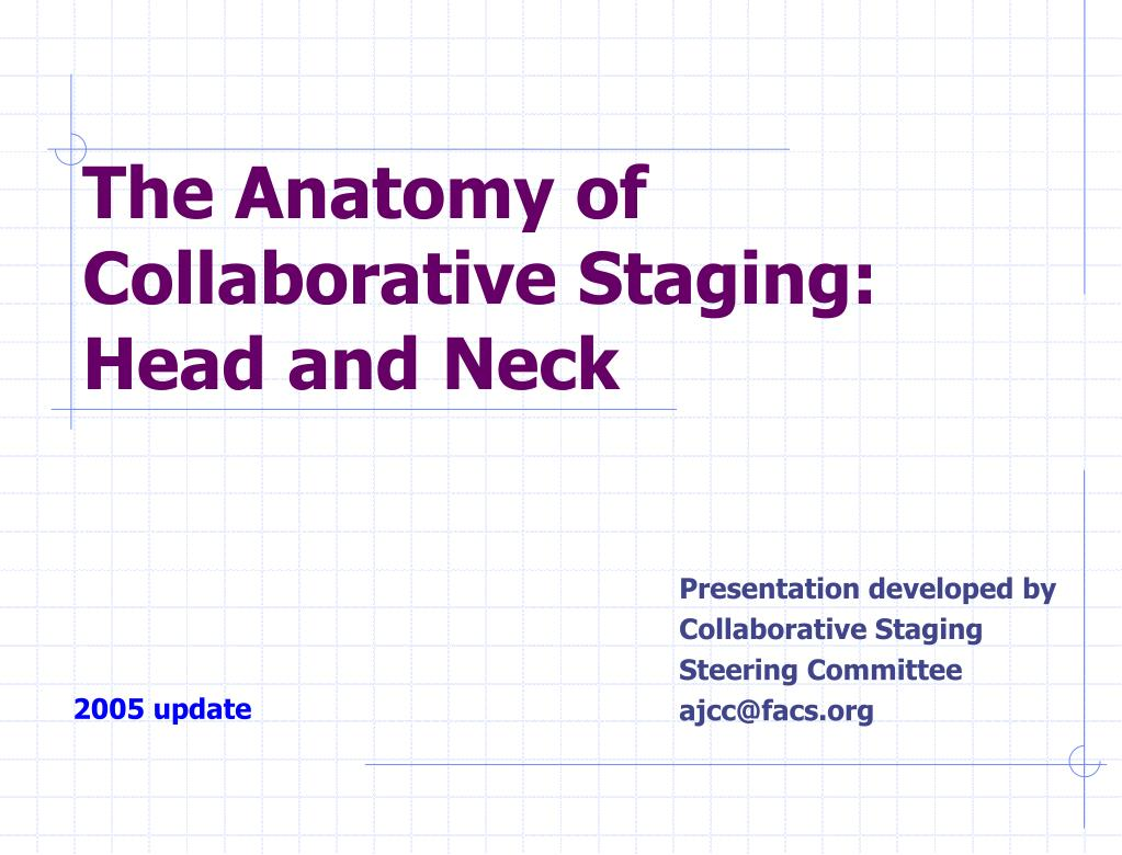 Ppt The Anatomy Of Collaborative Staging Head And Neck Powerpoint