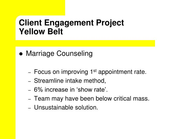 Client Engagement Project