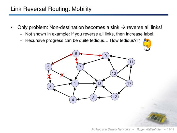 Link Reversal Routing: Mobility