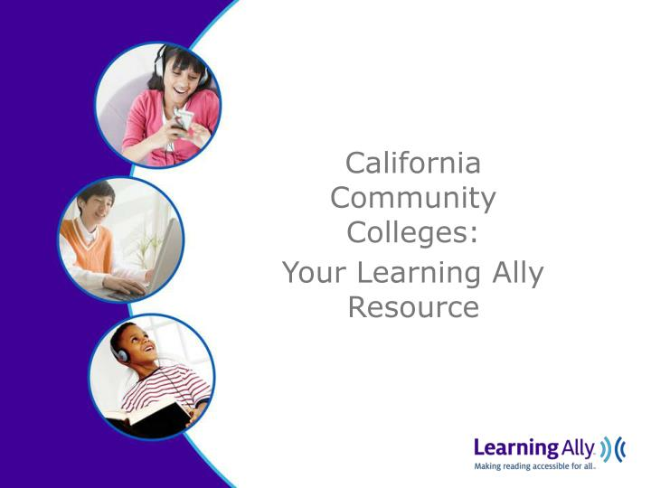 California Community Colleges: