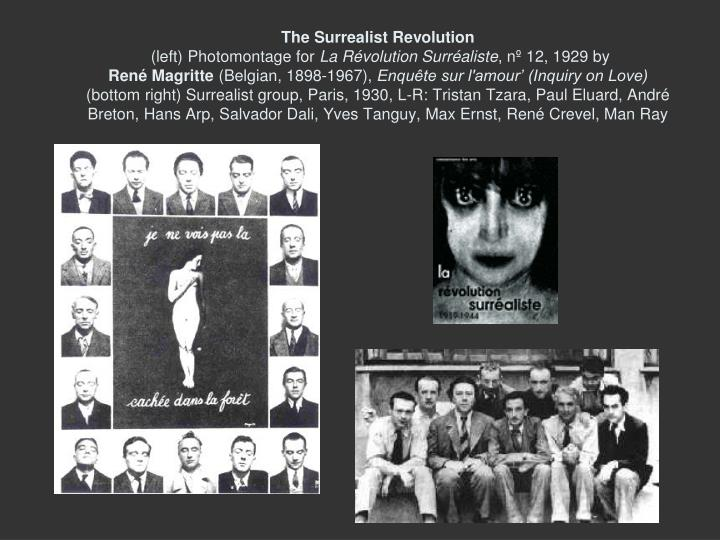 The Surrealist Revolution