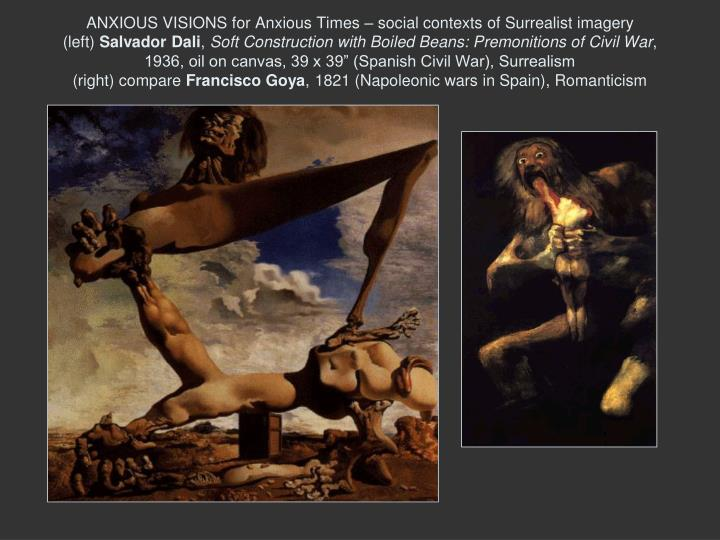 ANXIOUS VISIONS for Anxious Times – social contexts of Surrealist imagery