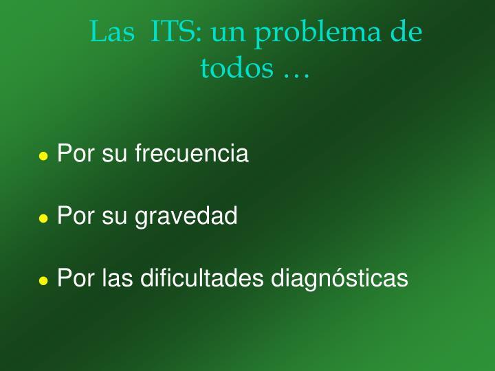 Las  ITS: un problema de todos …