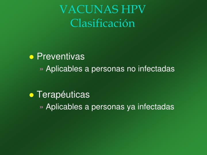 VACUNAS HPV
