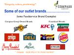 some of our outlet brands