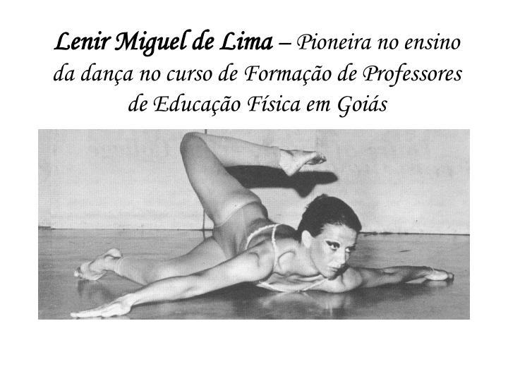 Lenir Miguel de Lima