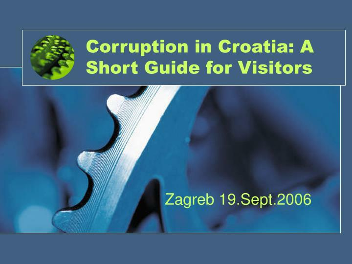 corruption in croatia a short guide for visitors n.