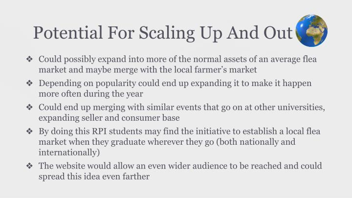 Potential For Scaling Up And Out
