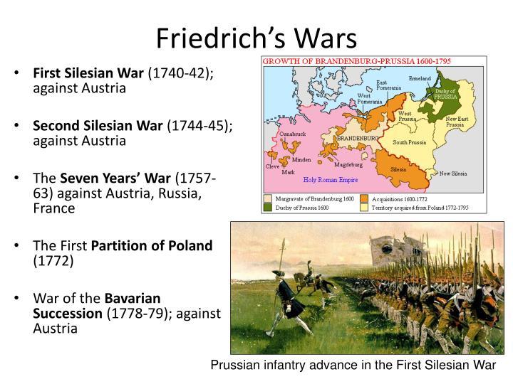 Friedrich's Wars