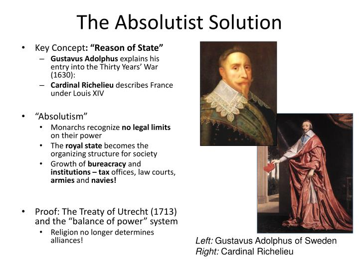 The Absolutist Solution