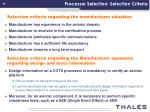 processor selection selection criteria